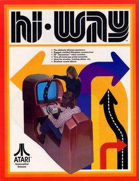 Hi Way 1975 arcade flyer