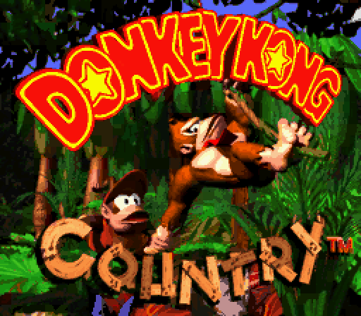Title Screen Donkey Kong Country